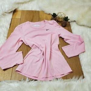 Nike Dri Fit Pink Sports Tee #1078